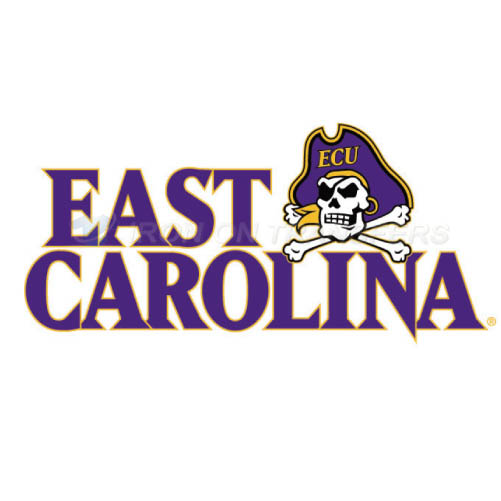 East Carolina Pirates Iron-on Stickers (Heat Transfers)NO.4310